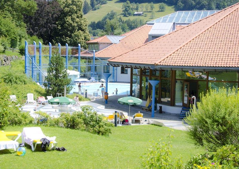 Spaß im Freien im Erlebnisbad Aquaria in Vorarlberg