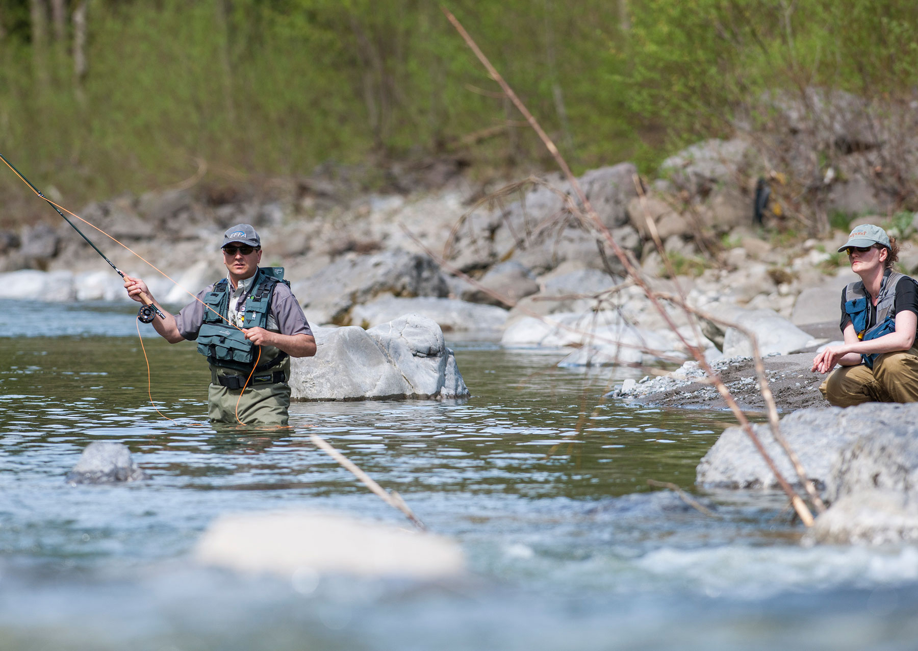 Fischen im Bregenzerwald