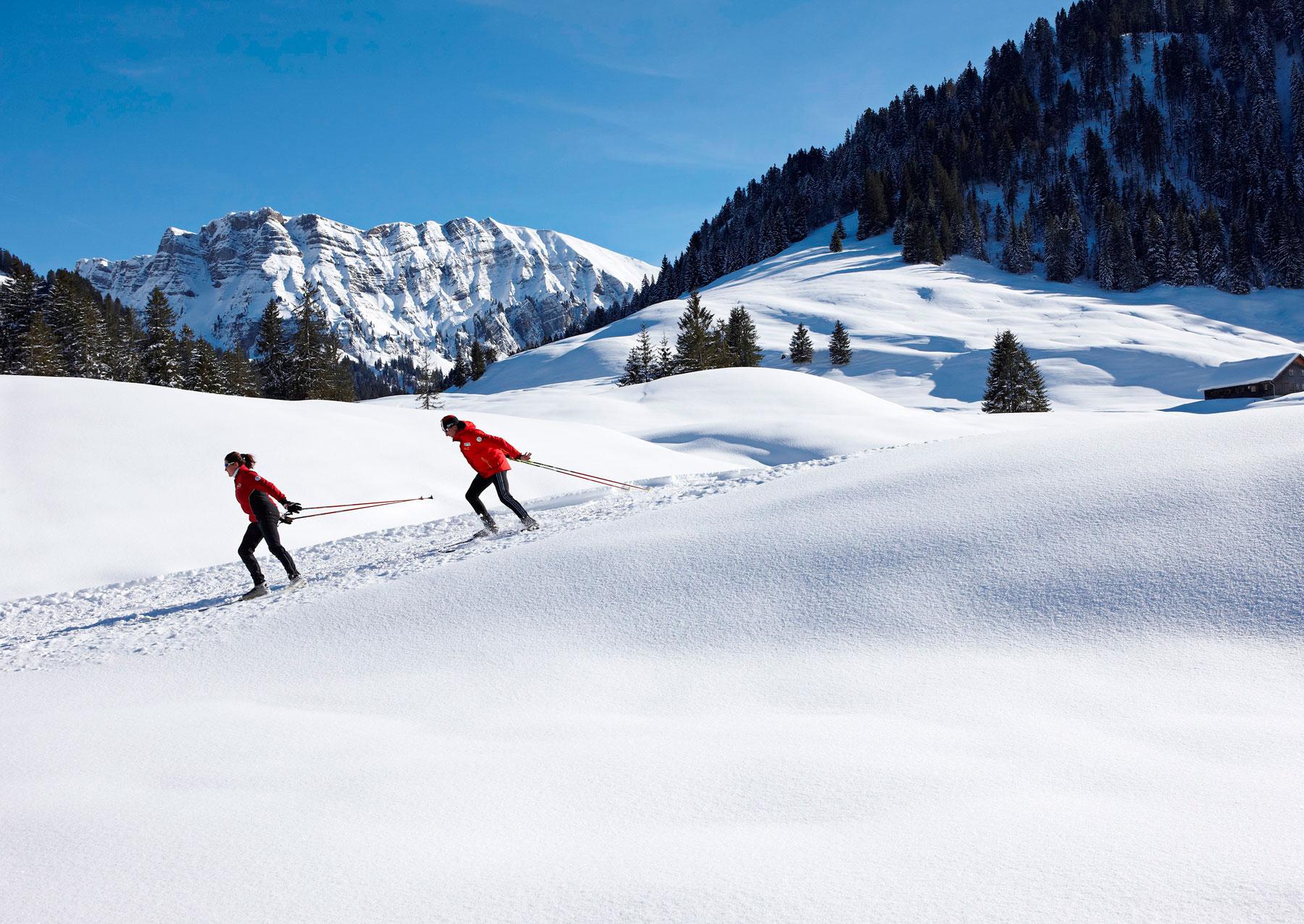 Langlaufen in Schönenbach