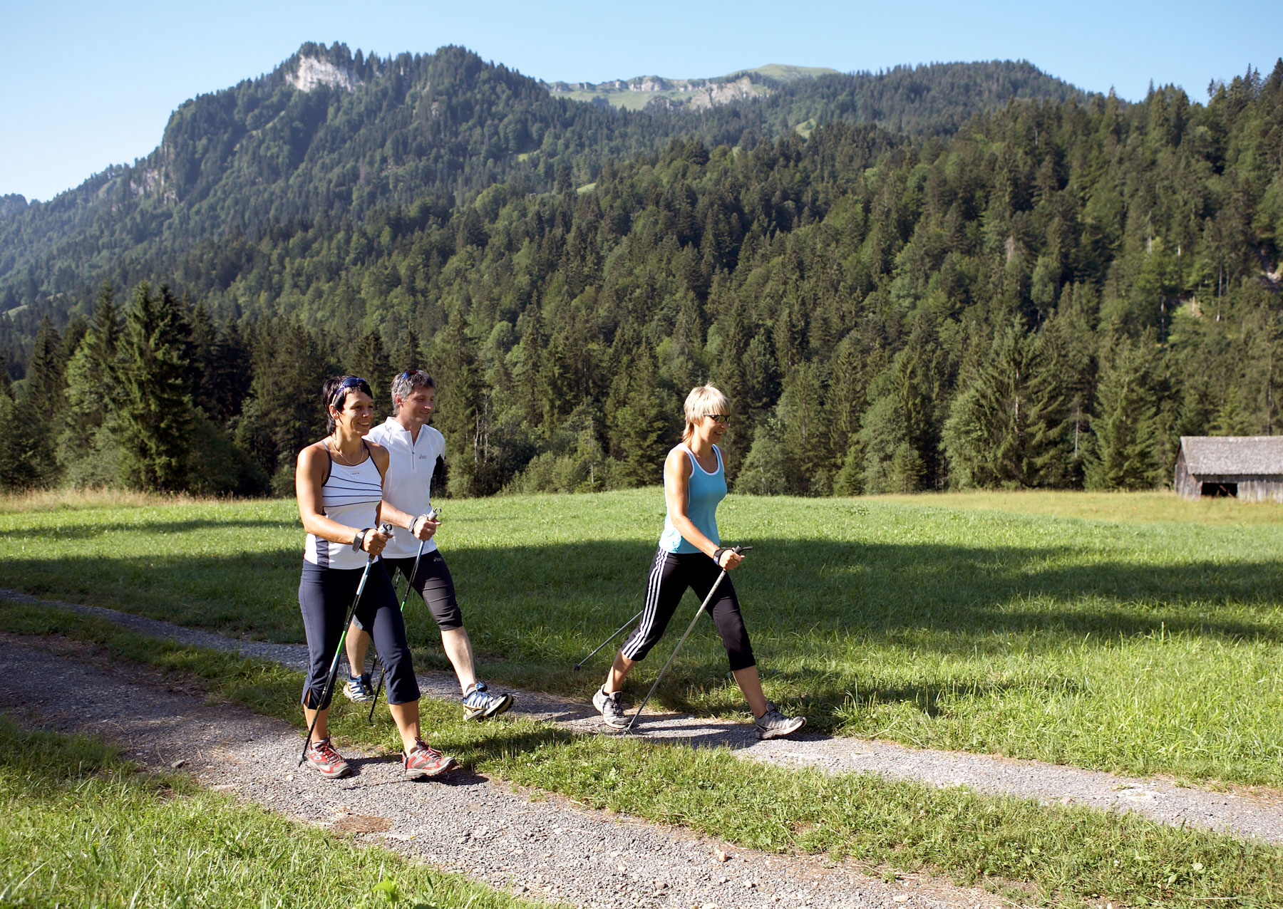 Nordic Walking in Vorarlberg