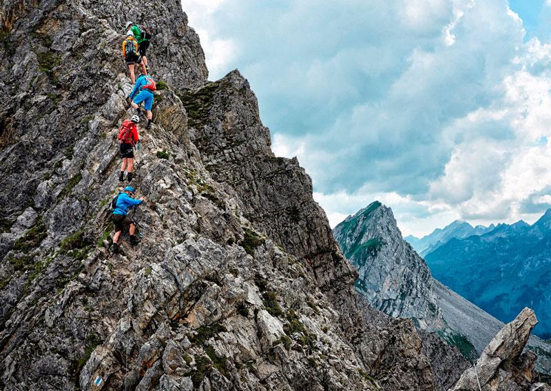 EInmlaige Klettererlebnisse in Vorarlberg
