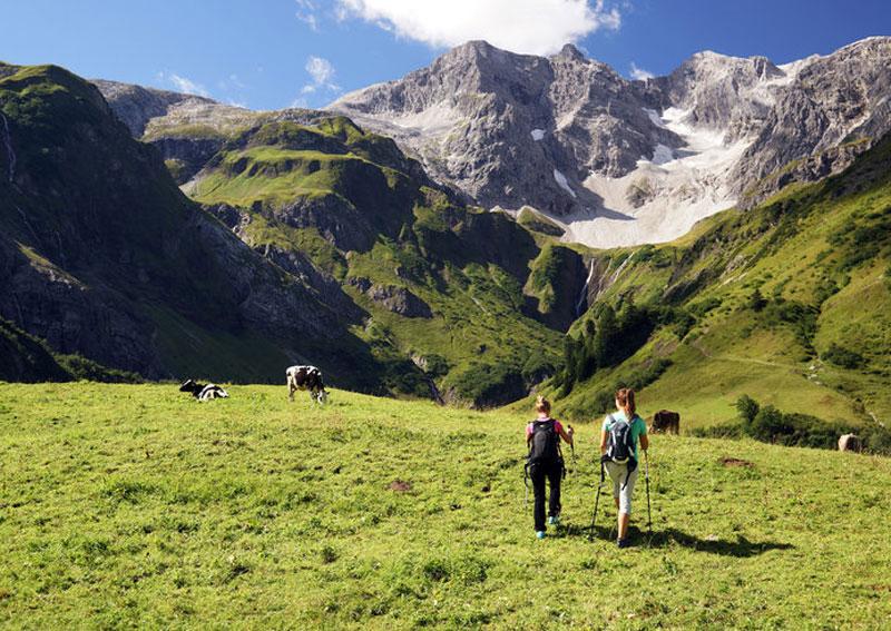 Kulinarisch Wandern in Schröcken, Vorarlberg