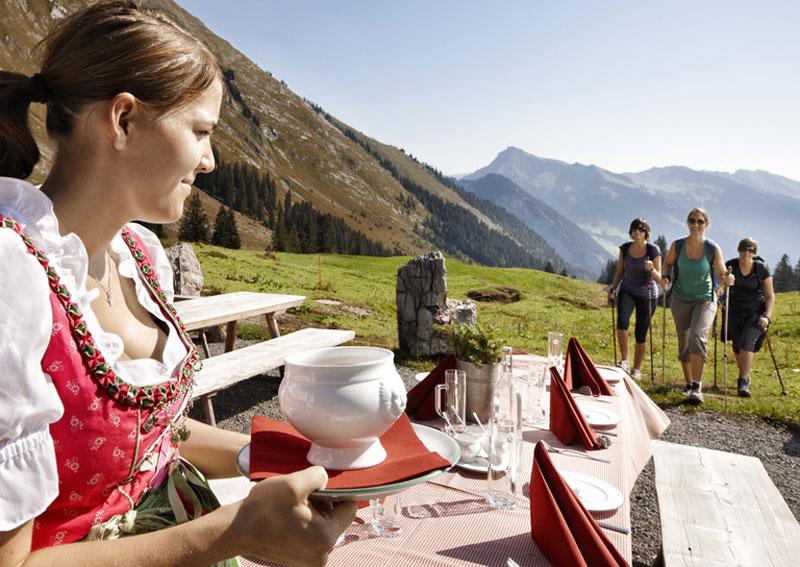Kulinarisch Wandern in Mellau