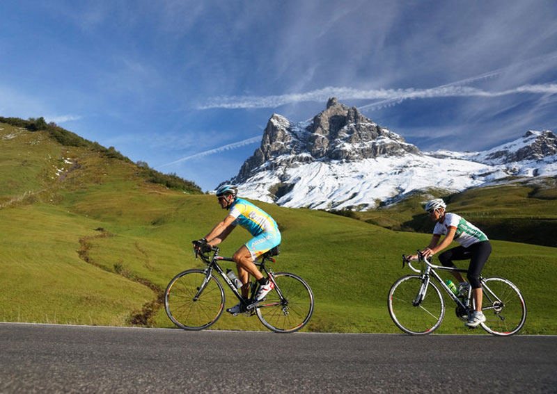 Mit dem Rennrad in Vorarlberg unterwegs