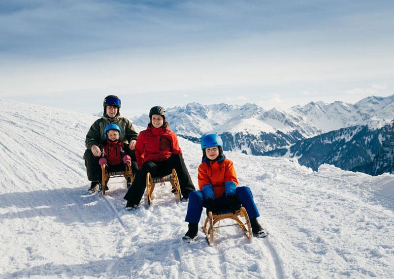 Rodeln in Vorarlberg