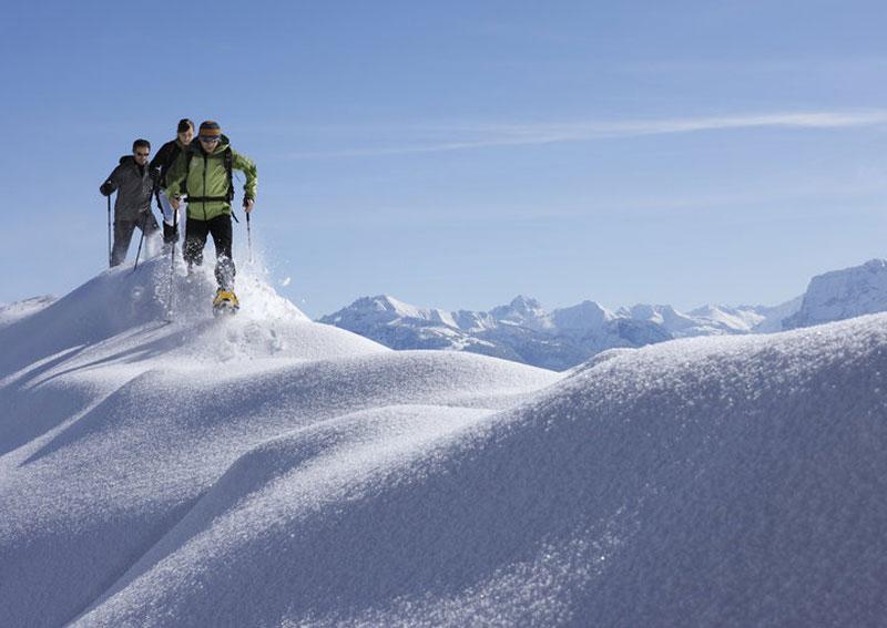 Schneeschuhwandern in Vorarlberg