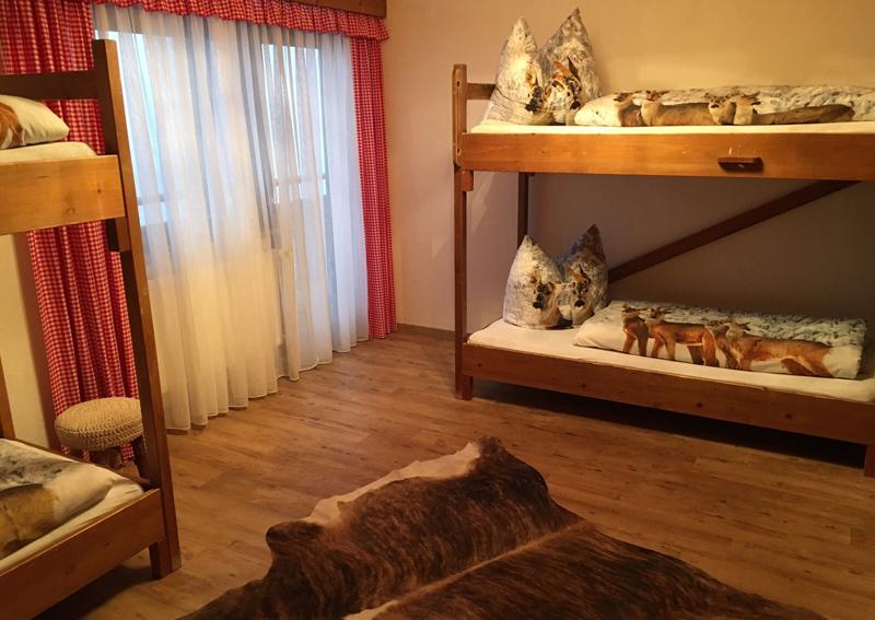 Selbstversorgerhütte Berghof eingerichtet mit Liebe