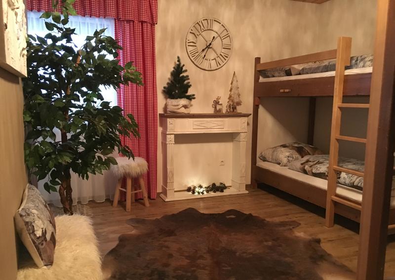 Selbstversorgerhütte Berghof mit liebevoller Einrichtung