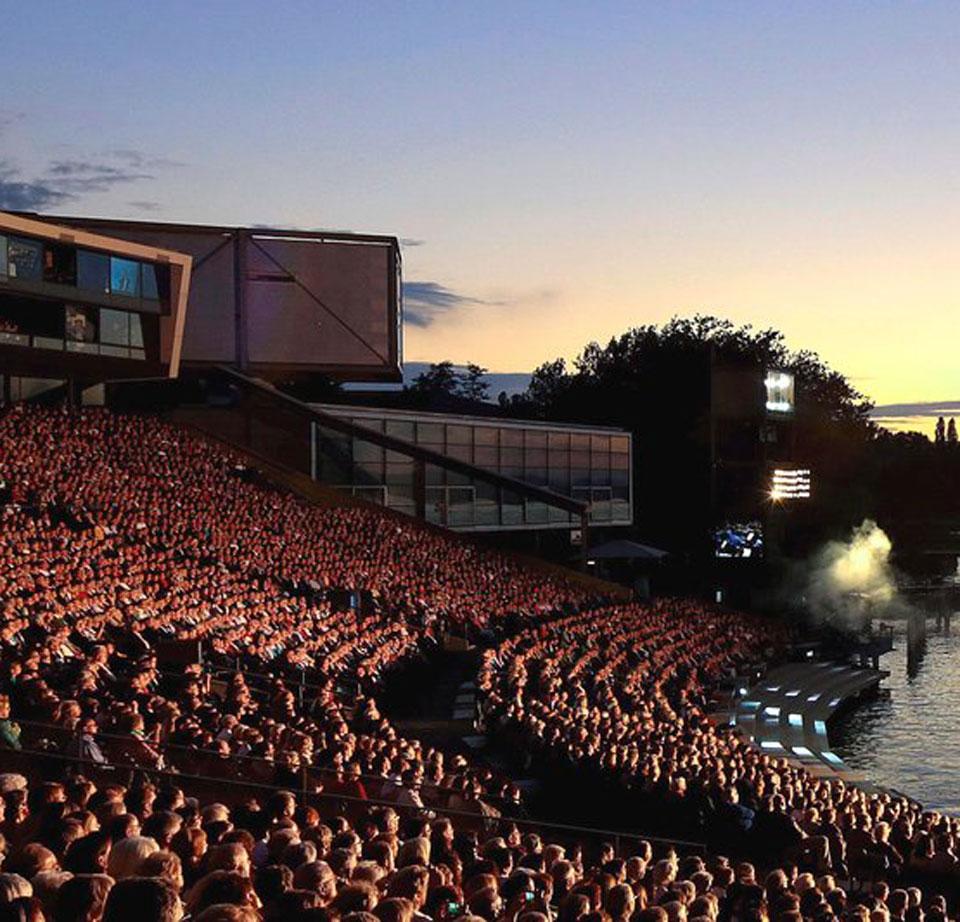 Bregenzer Festspiele nahe Riefensberg
