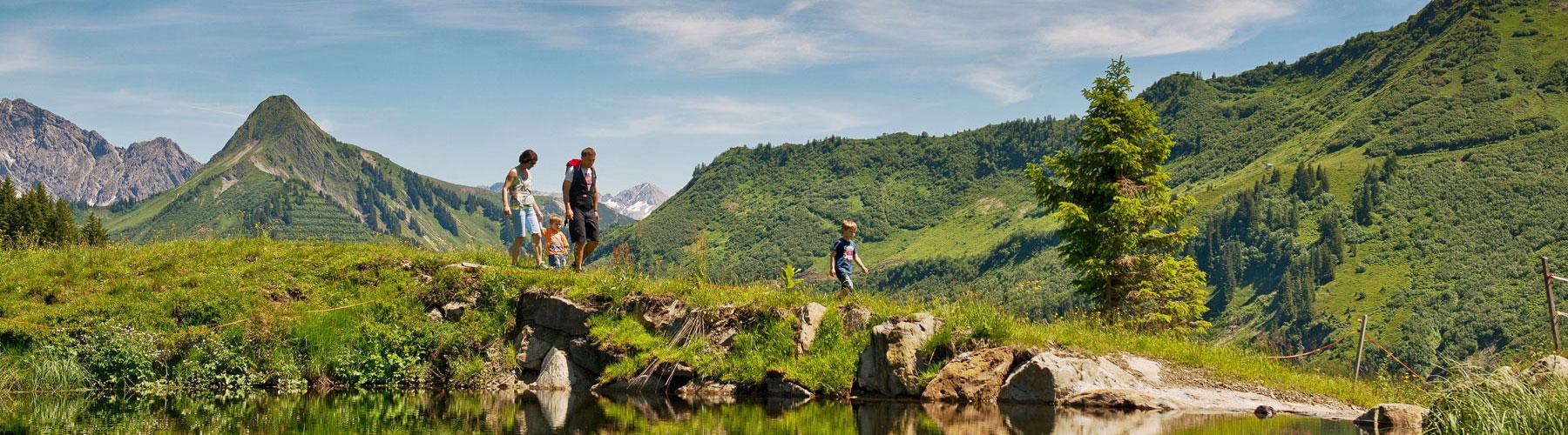 Wanderurlaub in Vorarlberg