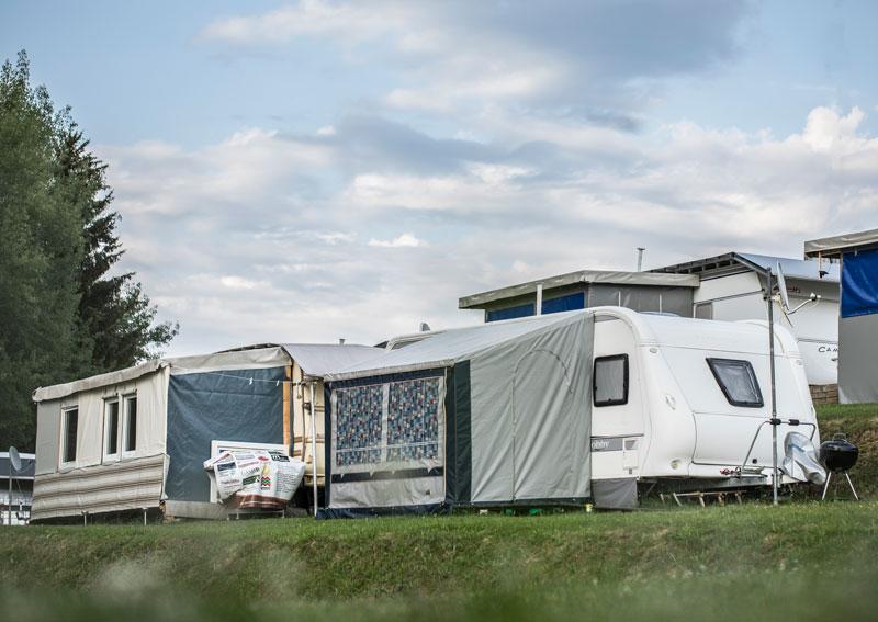 Urlaub am Campingplatz in Hochlitten
