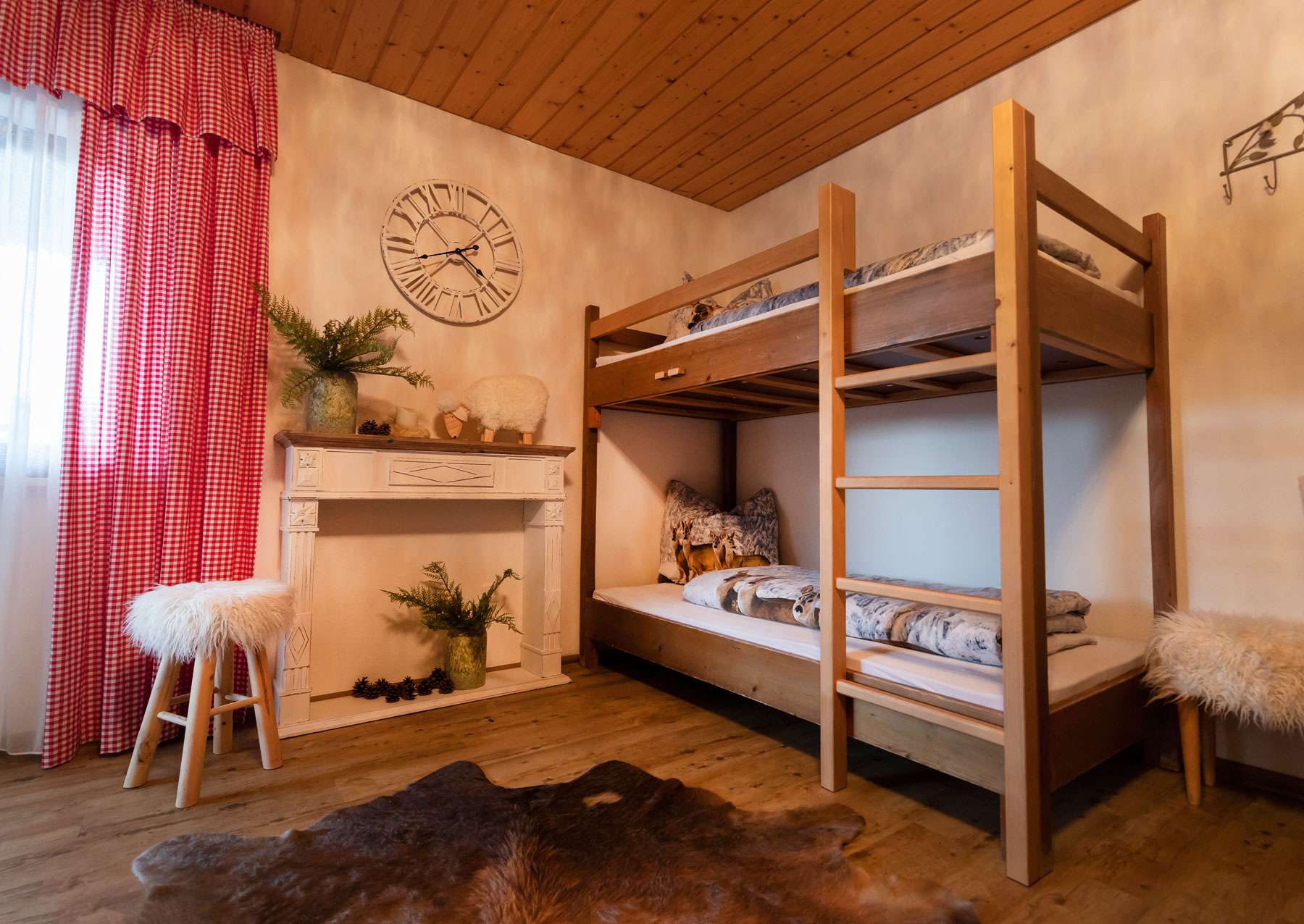 Gemütliche Zimmer im Ferienhaus Berghof in Vorarlberg