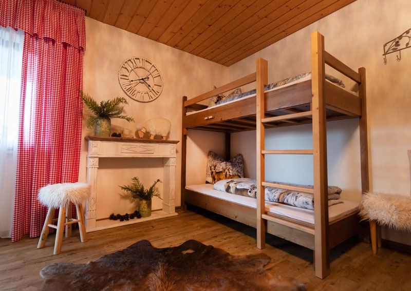 Zimmer im Ferienhaus Berghof