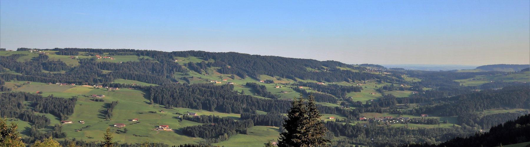 Panoramaausblick von Hochlitten