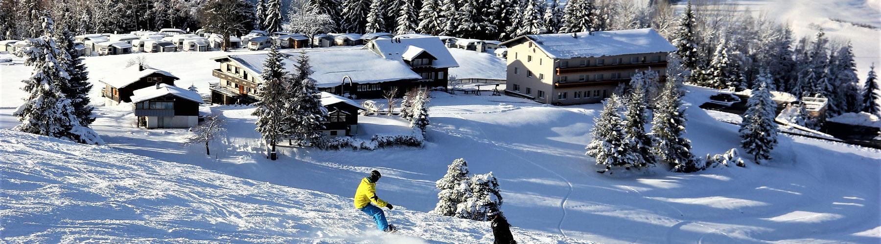 Skigebiet Hochlitten