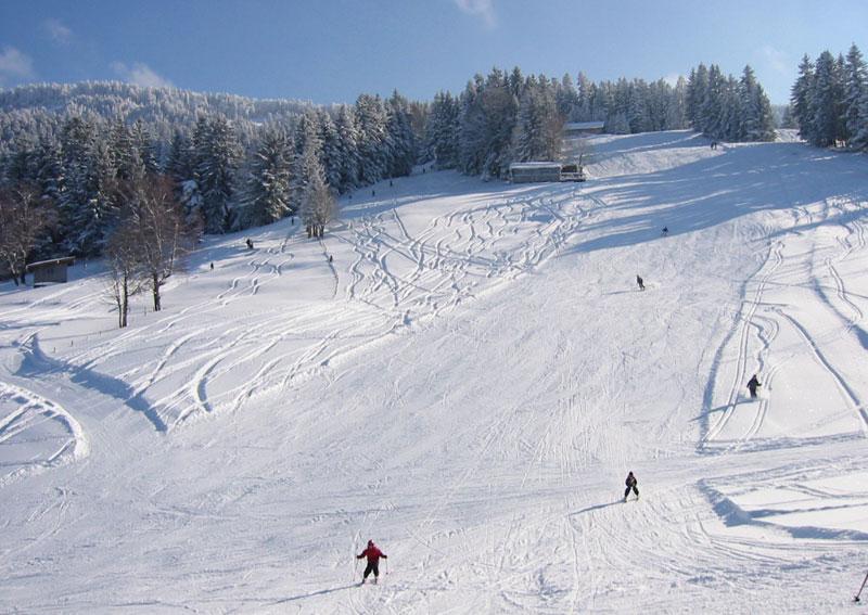 Pisten am Skigebiet Hochlitten Riefensberg