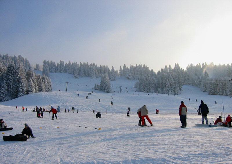 Skilifte am Skigebiet Hochlitten Riefensberg