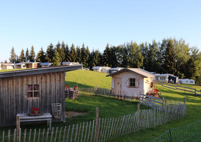 Ruhiger Campingplatz